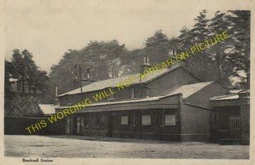 Bracknell Railway Station Photo. Wokingham - Sunningdale. Reading to Ascot. (7)