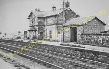 Bradbury Railway Station Photo. Ferry Hill - Aycliffe. (1).