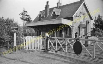 Bradfield Railway Station Photo. Mistley - Wrabness. Manningtree to Harwich. (3).