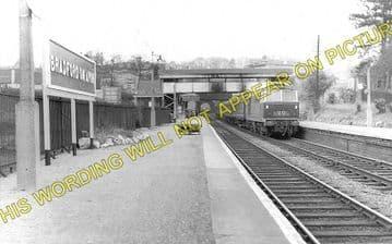 Bradford-on-Avon Railway Station Photo. Freshford to Staverton & Trowbridge (2)