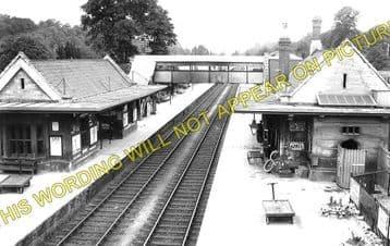 Bradford-on-Avon Railway Station Photo. Freshford to Staverton & Trowbridge (3)
