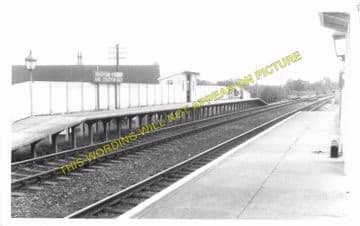 Bradford Peverell & Stratton Railway Station Photo. Grimstone - Dorchester. (8)
