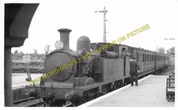 Brading Railway Station Photo. Sandown to Bembridge & Ryde Lines. (10)..