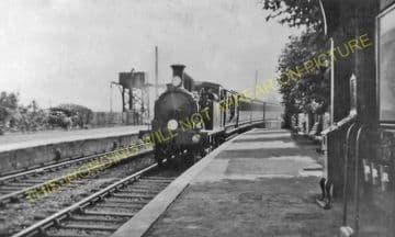 Brading Railway Station Photo. Sandown to Bembridge & Ryde Lines. (20)