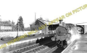 Brading Railway Station Photo. Sandown to Bembridge & Ryde Lines. (3)