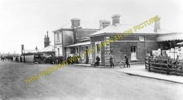 Braintree & Bocking Railway Station Photo. Cressing - Rayne. Felstead Line. (2)