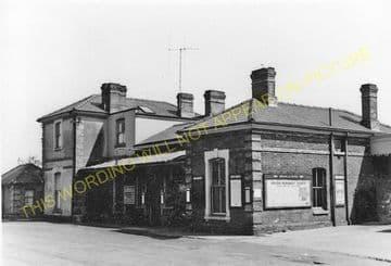 Braintree & Bocking Railway Station Photo. Cressing - Rayne. Felstead Line. (8)