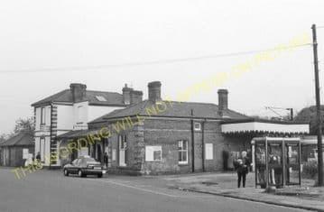 Braintree & Bocking Railway Station Photo. Cressing - Rayne. Felstead Line. (9).