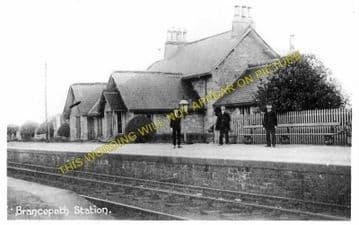 Brancepeth Railway Station Photo. Brandon -Willington. Bishop Auckland Line. (1)
