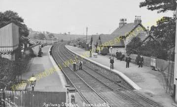 Brancepeth Railway Station Photo. Brandon -Willington. Bishop Auckland Line. (4)