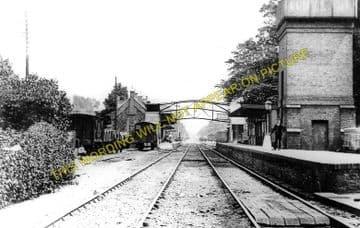 Brandon Railway Station Photo. Thetford - Lakenheath. Ely Line. (3)