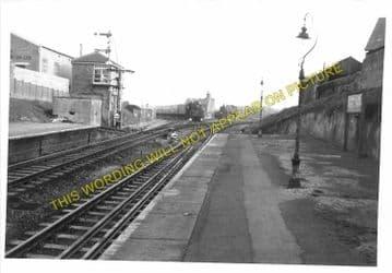 Branksome Railway Station Photo. Bournemouth - Poole and Broadstone. (4)..