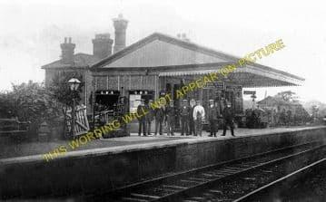 Bransford Road Railway Station Photo. Henwick - Malvern. Worcester Line. GWR (2)