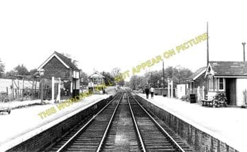 Braughing Railway Station Photo. Standon - Westmill. Mardock to Buntingford (2)