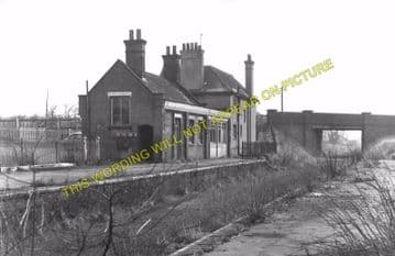 Braughing Railway Station Photo. Standon - Westmill. Mardock to Buntingford (4)