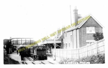 Braughing Railway Station Photo. Standon - Westmill. Mardock to Buntingford (5)
