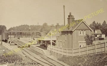 Braughing Railway Station Photo. Standon - Westmill. Mardock to Buntingford (7)