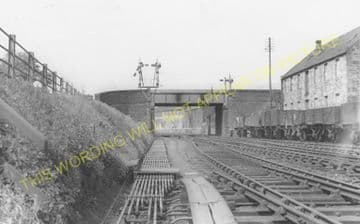 Brechin Railway Station Photo. Bridge of Dun to Careston and Edzell. (11)