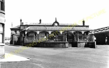 Brechin Railway Station Photo. Bridge of Dun to Careston and Edzell. (3)