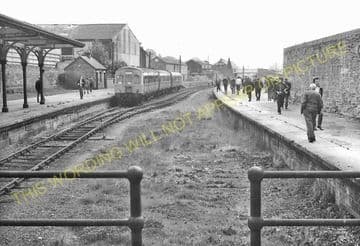 Brechin Railway Station Photo. Bridge of Dun to Careston and Edzell. (7)