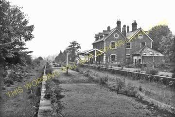 Brecon Railway Station Photo. Talyllyn Jct. - Cradoc. Neath & Brecon Railway (12)