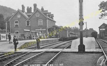 Brecon Railway Station Photo. Talyllyn Jct. - Cradoc. Neath & Brecon Railway (16)