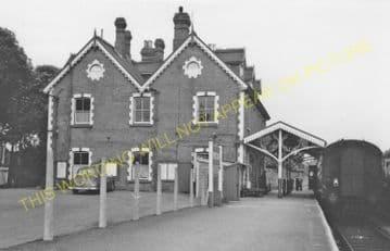 Brecon Railway Station Photo. Talyllyn Jct. - Cradoc. Neath & Brecon Railway (17)