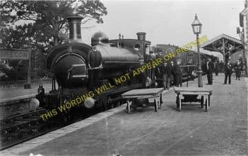 Brecon Railway Station Photo. Talyllyn Jct. - Cradoc. Neath & Brecon Railway (5)