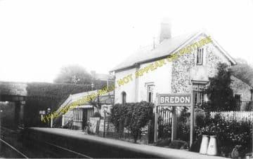Bredon Railway Station Photo. Ashchurch - Eckington. Worcester Line. Midland (1)..