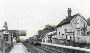 Bredon Railway Station Photo. Ashchurch - Eckington. Worcester Line. Midland (3)