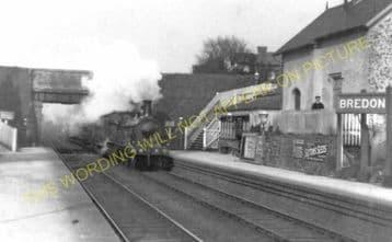 Bredon Railway Station Photo. Ashchurch - Eckington. Worcester Line. Midland (4)