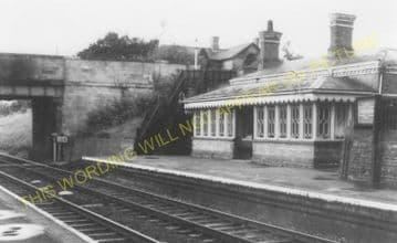 Bredon Railway Station Photo. Ashchurch - Eckington. Worcester Line. Midland (5)