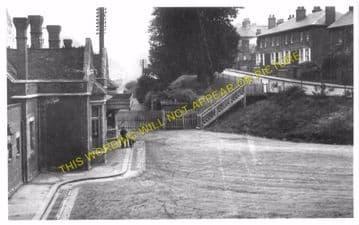Brentwood & Warley Railway Station Photo. Harold Wood - Shenfield & Hutton (10)..