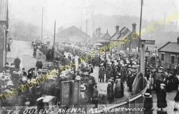 Brentwood & Warley Railway Station Photo. Harold Wood - Shenfield & Hutton (20)