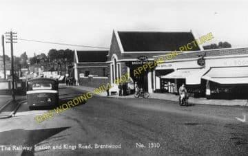 Brentwood & Warley Railway Station Photo. Harold Wood - Shenfield & Hutton (3)