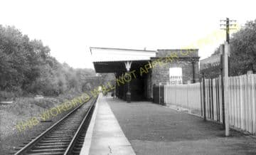 Bricket Wood Railway Station Photo. Watford - St. Albans. L&NWR. (16)