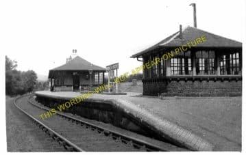 Bridge of Orchy Railway Station Photo. Tyndrum - Rannoch. Crianlarich Line. (2)