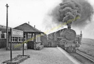 Bridge of Orchy Railway Station Photo. Tyndrum - Rannoch. Crianlarich Line. (3)