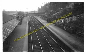 Bridge of Weir Railway Station Photo. Houston - Kilmacolm. Greenock Line. (1)