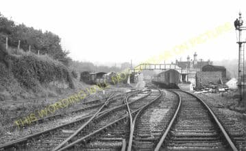 Bridgnorth Railway Station Photo. Eardington - Linley. Highley to Coalport. (13)