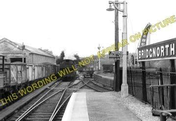 Bridgnorth Railway Station Photo. Eardington - Linley. Highley to Coalport. (7)