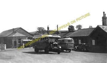 Bridport Railway Station Photo. West Bay - Powerstock. Maiden Newton Line. (11)..