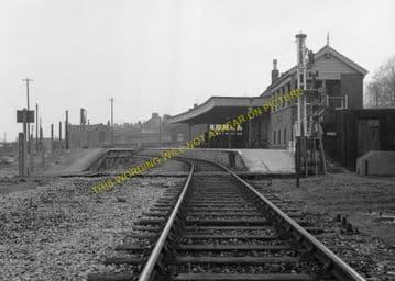 Bridport Railway Station Photo. West Bay - Powerstock. Maiden Newton Line. (13)