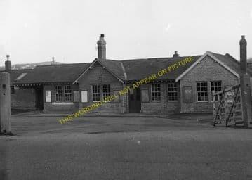 Bridport Railway Station Photo. West Bay - Powerstock. Maiden Newton Line. (14)