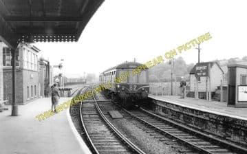 Bridport Railway Station Photo. West Bay - Powerstock. Maiden Newton Line. (2)