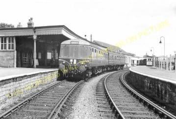 Bridport Railway Station Photo. West Bay - Powerstock. Maiden Newton Line. (21)