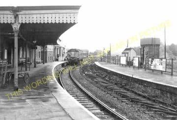 Bridport Railway Station Photo. West Bay - Powerstock. Maiden Newton Line. (22)
