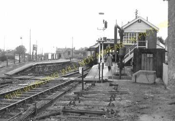 Bridport Railway Station Photo. West Bay - Powerstock. Maiden Newton Line. (23)