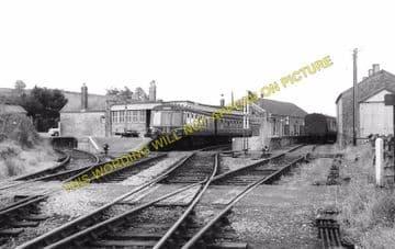 Bridport Railway Station Photo. West Bay - Powerstock. Maiden Newton Line. (3)