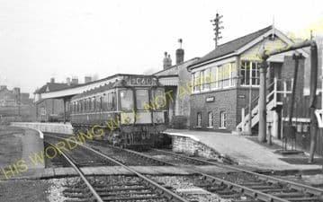 Bridport Railway Station Photo. West Bay - Powerstock. Maiden Newton Line. (30)